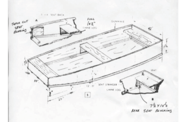 Flat Bottomed Boat Plans From The Kentucky Department Of Fish And Wildlife Resources