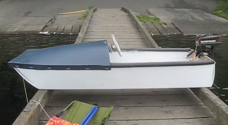 how to build a pontoon boat