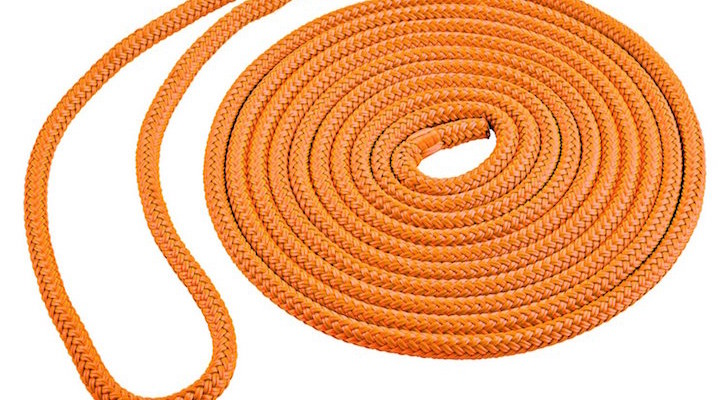 Double braid marine rope