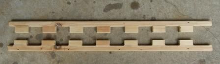 Boat cleat pieces