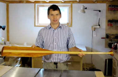 How To Carve A Canoe Paddle On A Bandsaw