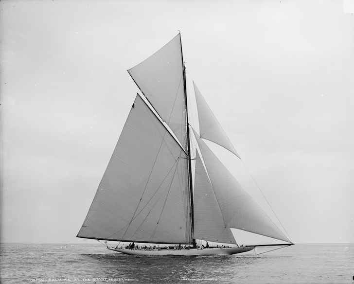Reliance sloop